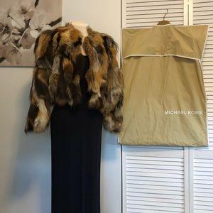 Imported Pieced Fox Fur Shorty Coat Michael Kors